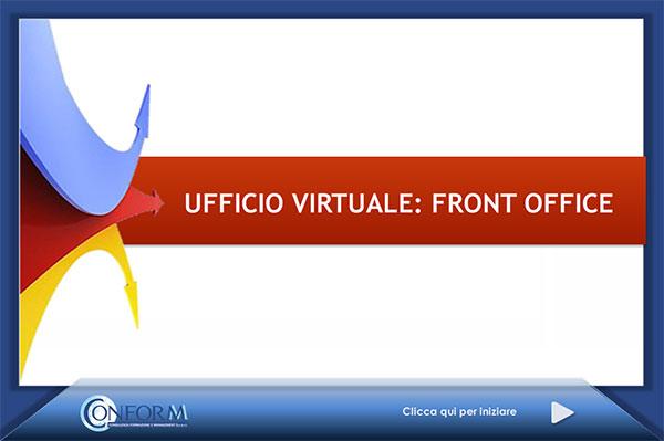 Ufficio virtuale front office conform for Ufficio virtuale