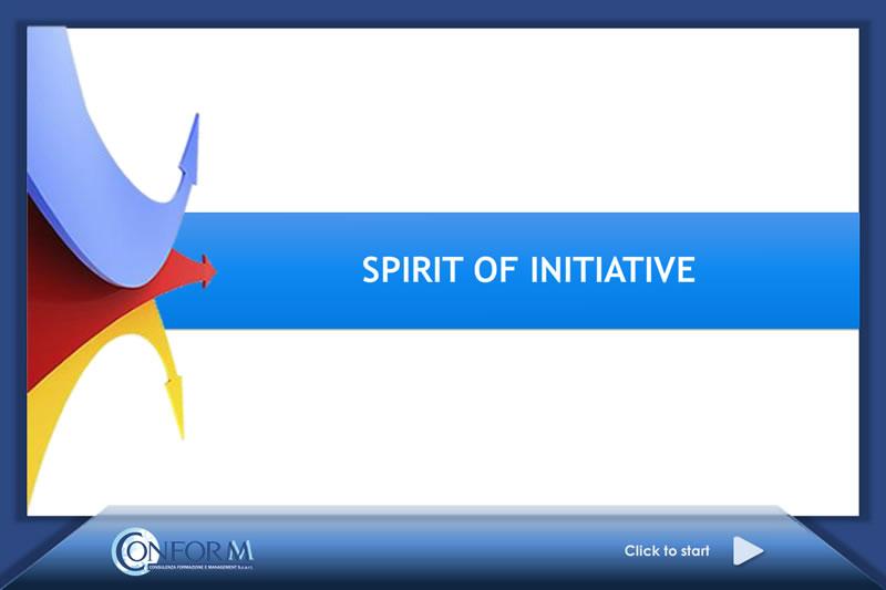 Spirit of initiative