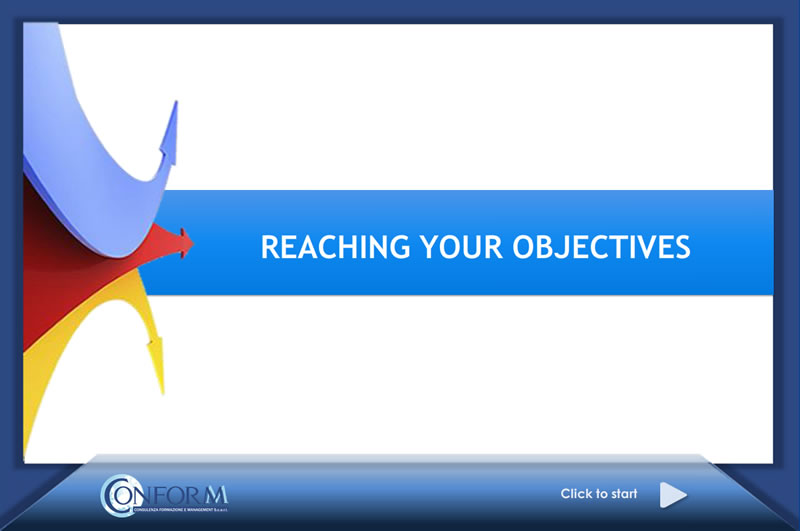 Reaching your objectives