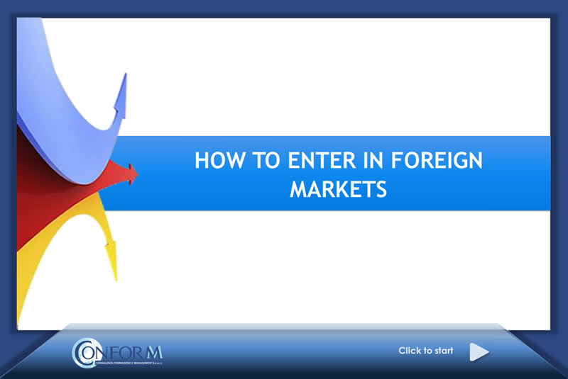 How to Enter in Foreign Markets