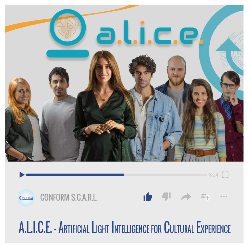 ALICE – ARTIFICIAL LIGHT INTELLIGENCE FOR CULTURAL EXPERIENCE