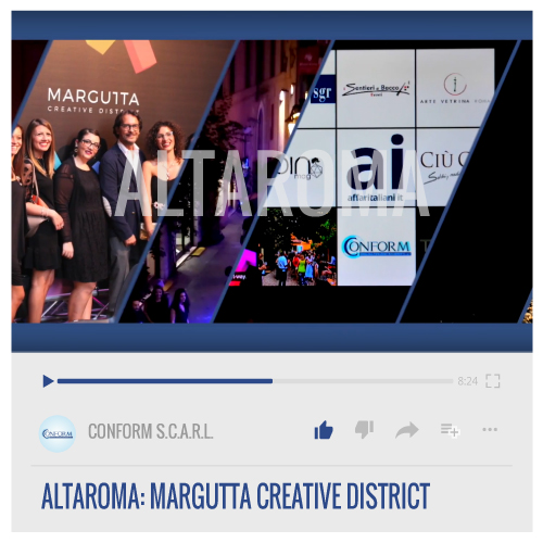 ALTAROMA: MARGUTTA CREATIVE DISTRICT