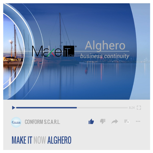 MAKE IT NOW ALGHERO
