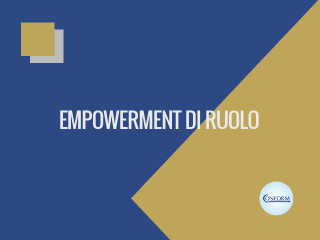 EMPOWERMENT DI RUOLO