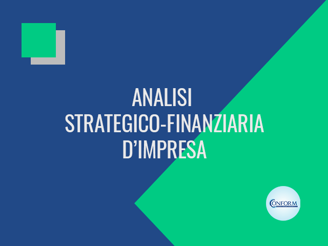 ANALISI STRATEGICO-FINANZIARIA D'IMPRESA