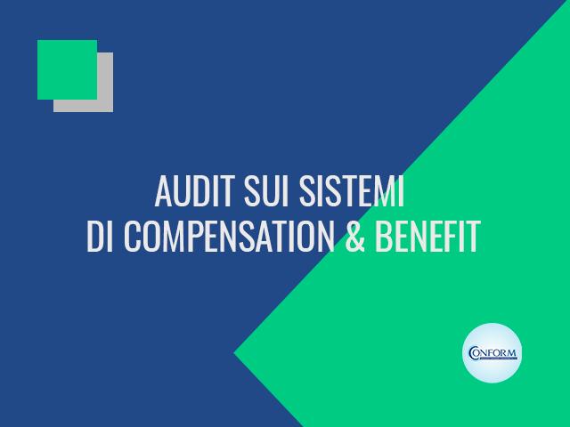 AUDIT SUI SISTEMI DI COMPENSATION & BENEFIT