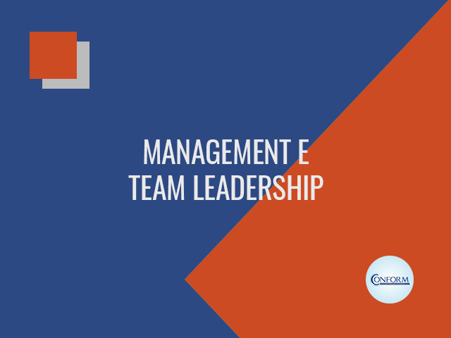MANAGEMENT E TEAM LEADERSHIP