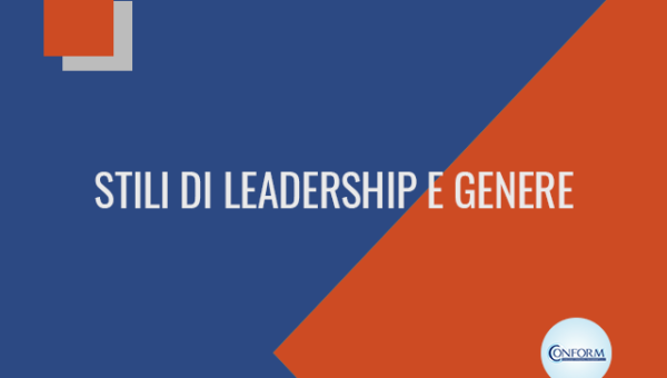 STILI DI LEADERSHIP E GENERE