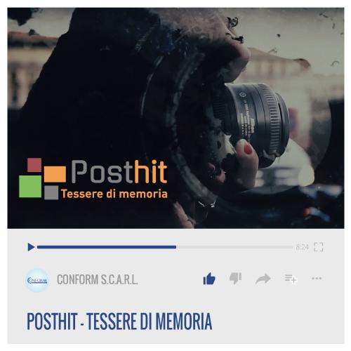 POSTHIT – TESSERE DI MEMORIA